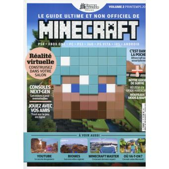 minecraft le guide ultime de minecraft collectif broch livre tous les livres la fnac. Black Bedroom Furniture Sets. Home Design Ideas
