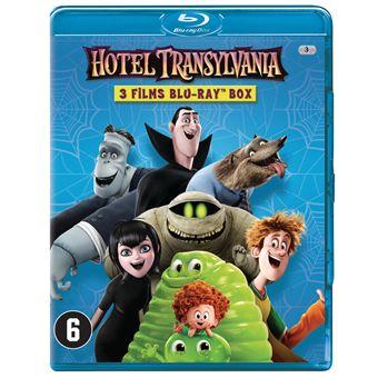 HOTEL TRANSYLVANIA 1-2-3-BOX-BIL-BLURAY