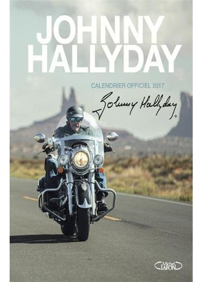 Johnny Hallyday Calendrier officiel 2017