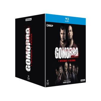 GomorraCoffret Gomorra Saisons 1 à 4 Blu-ray
