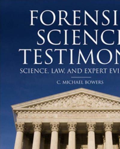 Forensic Testimony