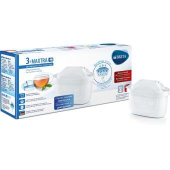 filtre à eau MicroFlow Pack 9 cartouches filtrantes Brita Maxtra pour carafe