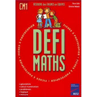 Défi maths CM1