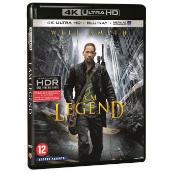 Je suis une légende Blu-ray 4K