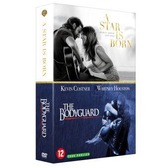 Coffret A Star Is Born et Bodyguard DVD