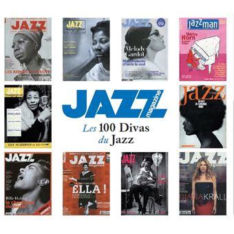 Jazz Magazine Les 100 Divas du Jazz Coffret Digipack Edition Fourreau Inclus un livret