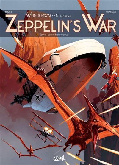 Zeppelin contre ptérodactyles