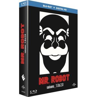 Mr. RobotMr Robot Saisons 1 et 2  Blu-ray