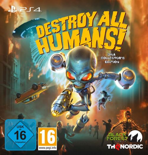 Destroy All Humans! DNA Edition Collector PS4