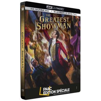 The Greatest Showman Steelbook Edition Fnac Blu-ray 4K Ultra HD