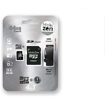 Mobizen Microsdhc 64Gb Cl10 W/ Adapter