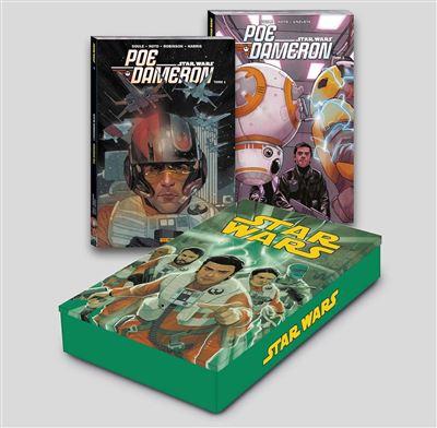 Coffret métal Star Wars : Poe Dameron T01 et