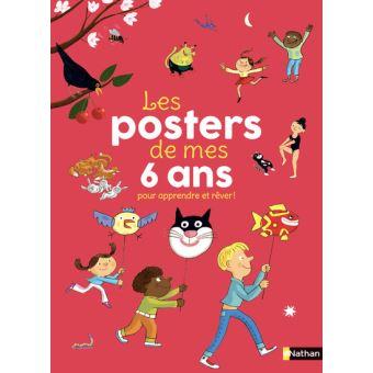 Les posters de mes 6 ans