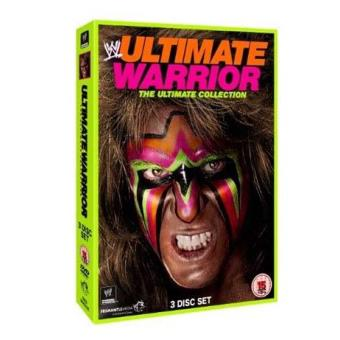WWE Ultimate Warrior Matches The Ultimate Collection DVD