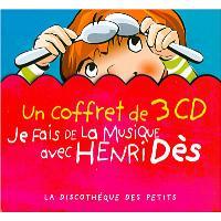Je fais de la musique avec Henri Dès - Coffret 3 CD