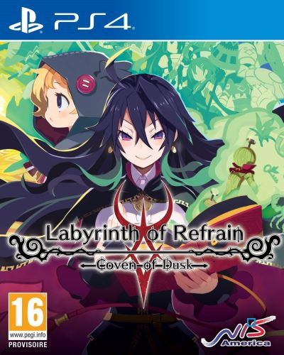 Labyrinth of Refrain Coven of Dusk PS4