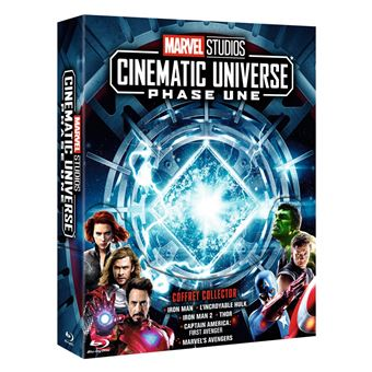 Coffret Marvel Studios Cinematic Universe Phase 1 Blu-ray