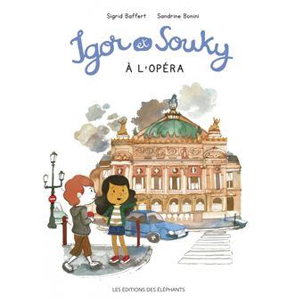 Igor et souky a l'opera