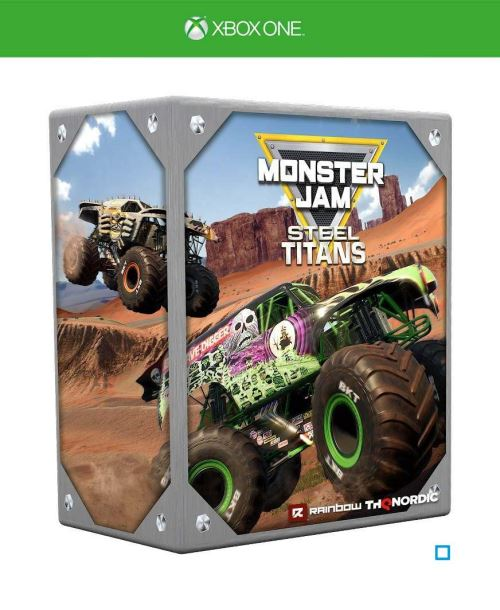Monster Jam Steel Titans Edition Collector Xbox One