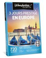 WOND Coffret cadeau Wonderbox 3 jours prestige en Europe