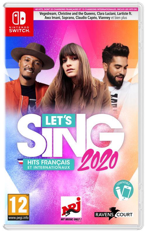 Let's Sing 2020 Hits Français et Internationaux Nintendo Switch