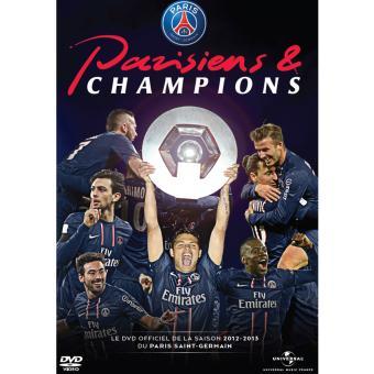 PSG PARISIENS & CHAMPIONS 2012-2013-VF