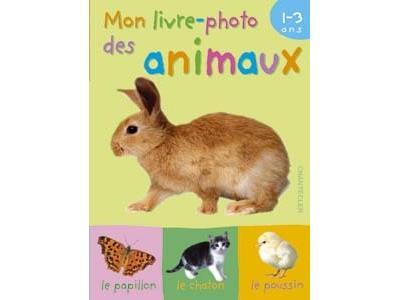 Mon livre-photo des animaux 1-3 ans