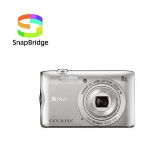 Compact Nikon Coolpix A300 Argent