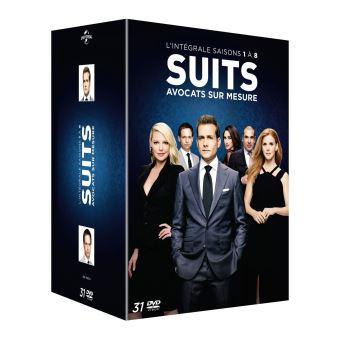 SuitsCoffret Suits, avocats sur mesure Saisons 1 à 8 DVD
