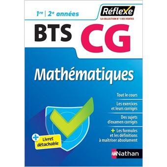 Mathématiques - BTS CG 1ère/2ème années (Guide Réflexe N° 67) - 2018