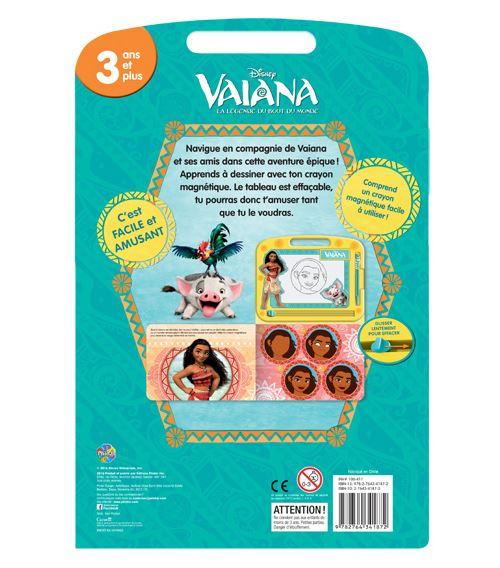 Vaiana Avec Un Tableau Et Un Crayon Magnetiques Disney Vaiana