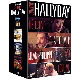 Coffret Johnny Hallyday DVD