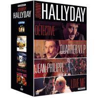 Coffret Johnny Hallyday 4 Films DVD