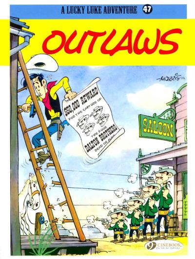 Lucky Luke - tome 47 Outlaws
