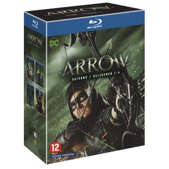 ArrowArrow Saisons 1 à 4 Blu-ray