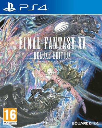 Final Fantasy XV Deluxe Edition PS4