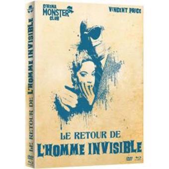 Le retour de l'homme invisible Combo Blu-ray + DVD