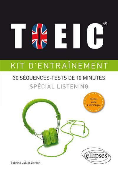 TOEIC, kit d'entraînement, spécial listening
