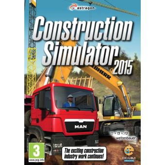 construction simulator 2015 pc jeux vid o achat prix fnac. Black Bedroom Furniture Sets. Home Design Ideas