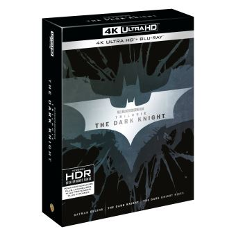 BatmanCoffret The Dark Knight La Trilogie Blu-ray 4K Ultra HD