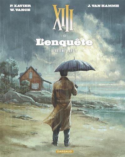 XIII - tome 13 - L'Enquête - suite - 9782505077336 - 6,99 €