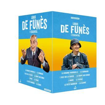 Coffret L'Essentiel de Louis de Funès 8 Films DVD