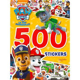 Cahier Coloriage Pat Patrouille.Pat Patrouille 500 Stickers