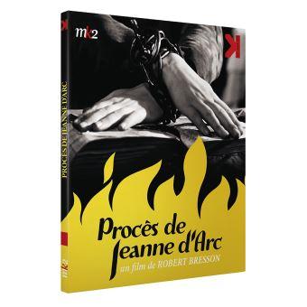 Le procès de Jeanne d'Arc Blu-ray