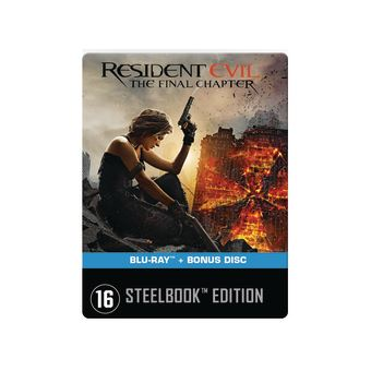 Resident EvilResident Evil: The Final Chapter  -  2 Blurays  -  Nl