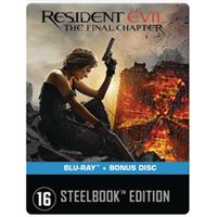Resident Evil: The Final Chapter  -  2 Blurays  -  Nl