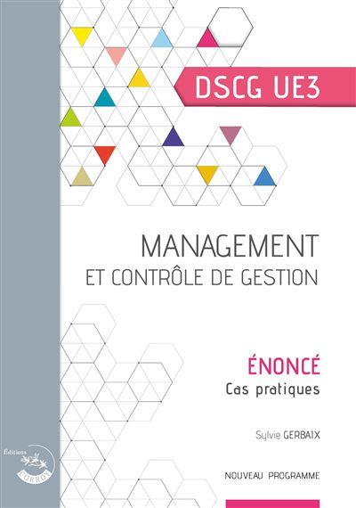 Management et controle de gestion - enonce