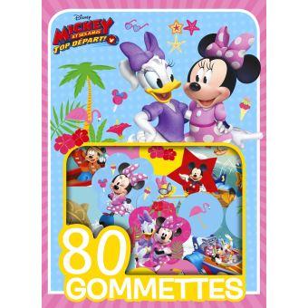 Mickey Top Départ !Mes 80 Gommettes Disney Vive les Vacances