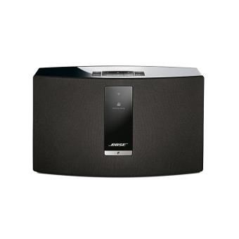 enceinte sans fil bose soundtouch 20 iii wifi bluetooth noire enceinte compacte achat. Black Bedroom Furniture Sets. Home Design Ideas