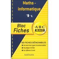 Bloc fiches abc maths infor 1l